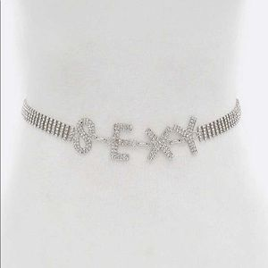 Accessories - Sexy Embellished Crystal Rhinestone Belt